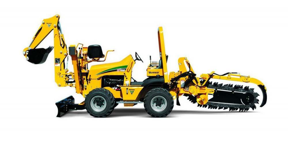 Trencher per posa Sottoservizi Vermeer RTX550