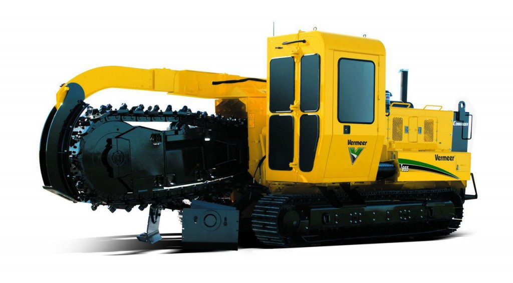 Trencher per piperlines Vermeer T655III Trencher