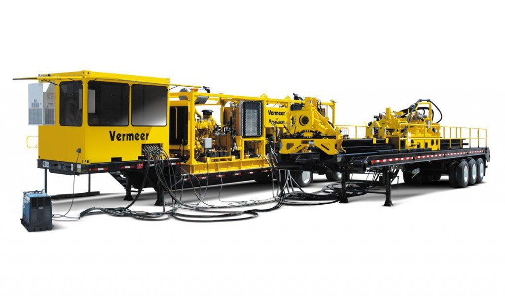 TOC HDD per posa di condotte primarie (pipelines) Vermeer D750X900