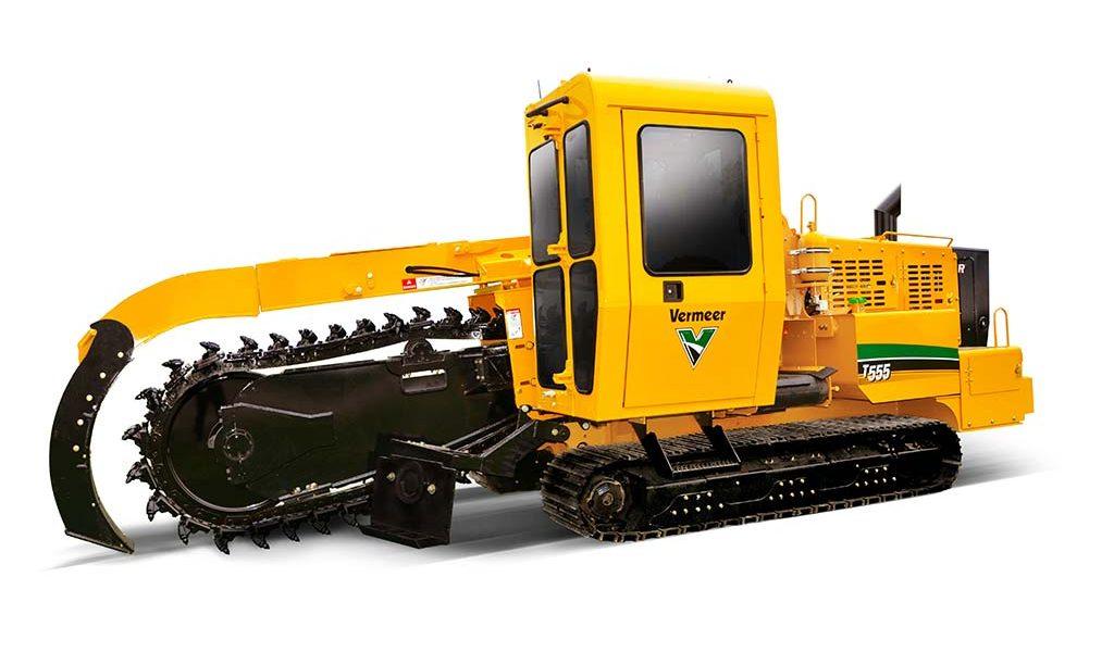 T555iii Vermeer Trencher
