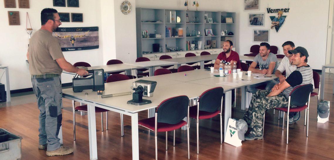 Vermeer Italia continua la sua attività di formazione operatori per i nuovi clienti