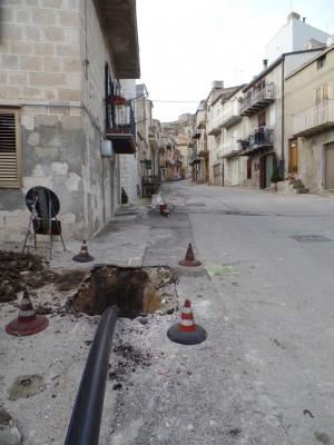 la perforazione orizzontale controllata al servizio del centro storico dei comuni di Caltanissetta e provincia