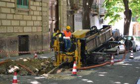 La soluzione perfetta per eseguire lavori di posa nei centri storici colpisce ancora: missione compiuta a Messina