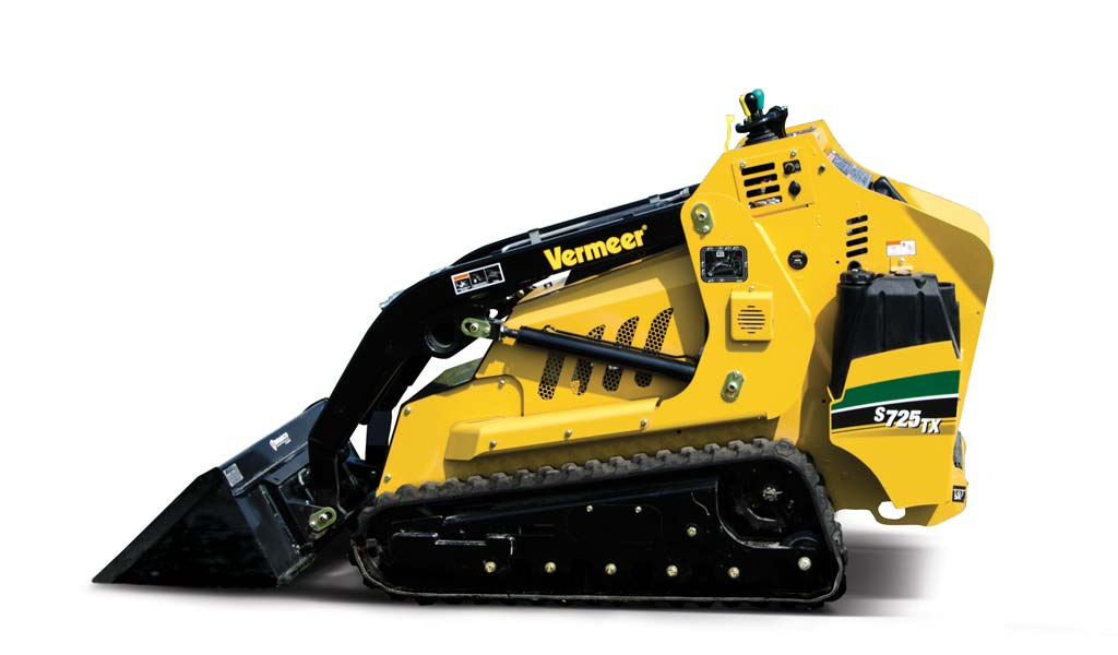 Mini Pala Vermeer S725TX per professionisti del giardinaggio e fai da te