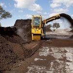 Rivoltatore di Compost Vermeer CT1010TX Tier 4i (Stage IIIB) in azione