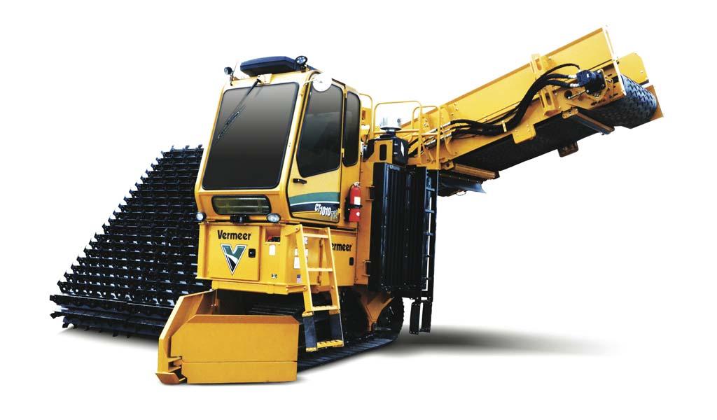 Rivoltatore di Compost Vermeer CT1010TX Tier 4i (Stage IIIB)