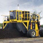 rivoltatore compost Vermeer CT718 in azione