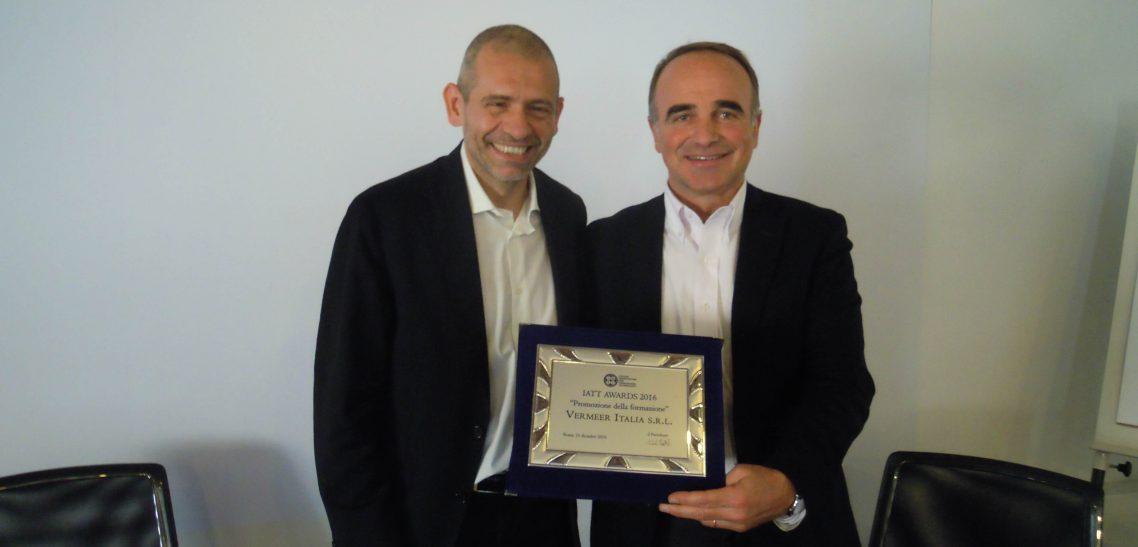 IATT ha premiato Vermeer Italia per l