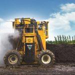 CT718 rivoltatore compost Vermeer - ruote