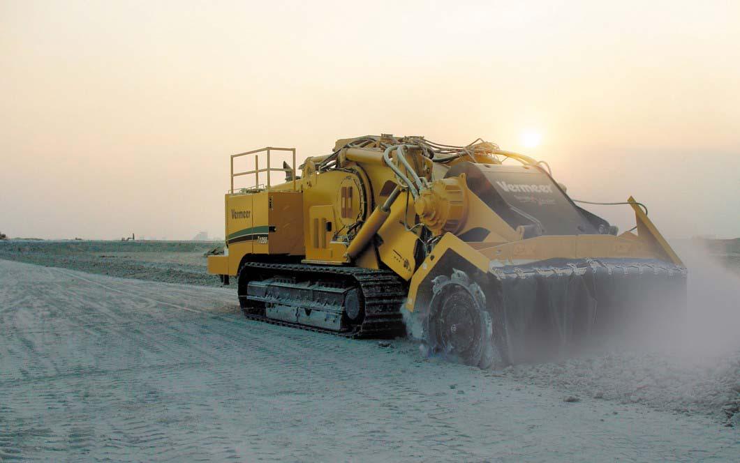 Vermeer Italia Terrain Leveler T1255 in azione