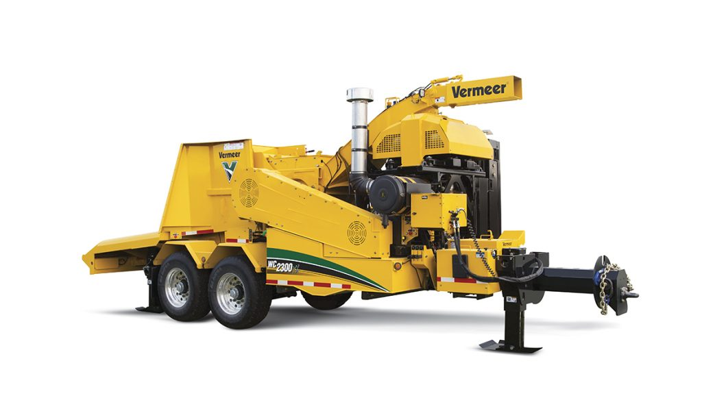 Cippatrice per tronchi WC2300XL Vermeer