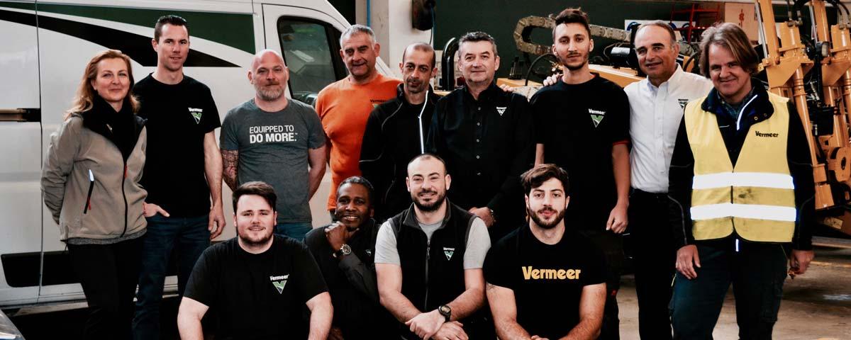 Servizio di assistenza e manutenzione Vermeer Italia