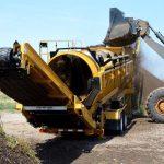 Vaglio Rotativo TR521 Vermeer Italia in azione