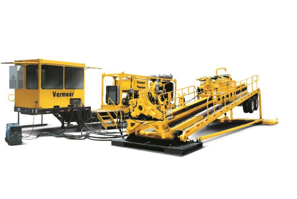 TOC HDD per posa di condotte primarie (pipelines) Vermeer D500x500