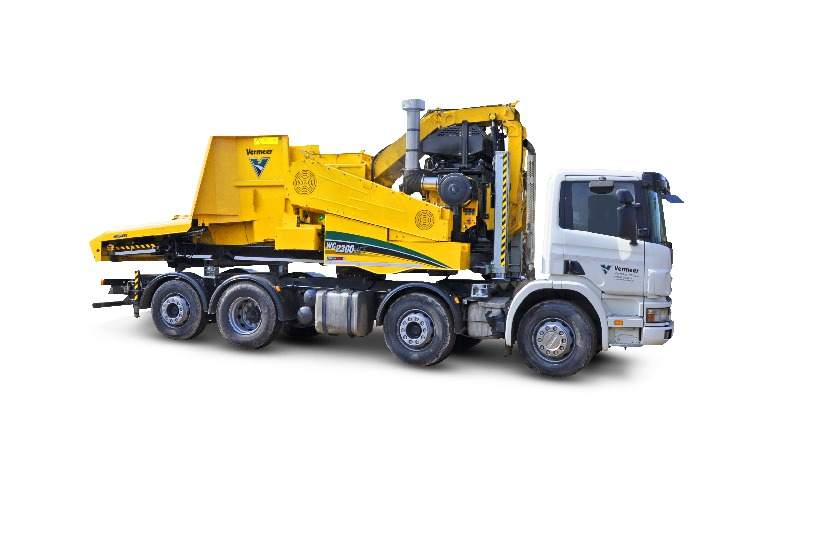 Cippatore Vermeer su camion WC2300XLT